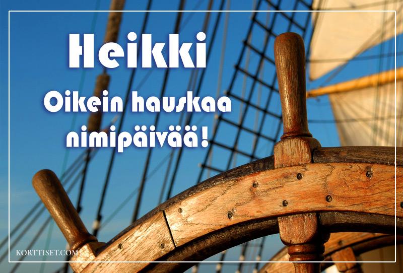 Heikki Nimipäivä